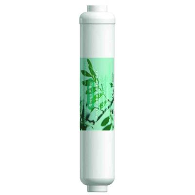 "Cartucho en línea GAC postcarbón 2"" x 10"" Green Filter"