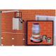 Kit conversor salida de gases. Permite convertir un calentador estanco en tiro forzado.