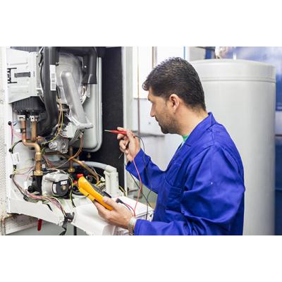 Revisión periódica de gas y puesta en marcha